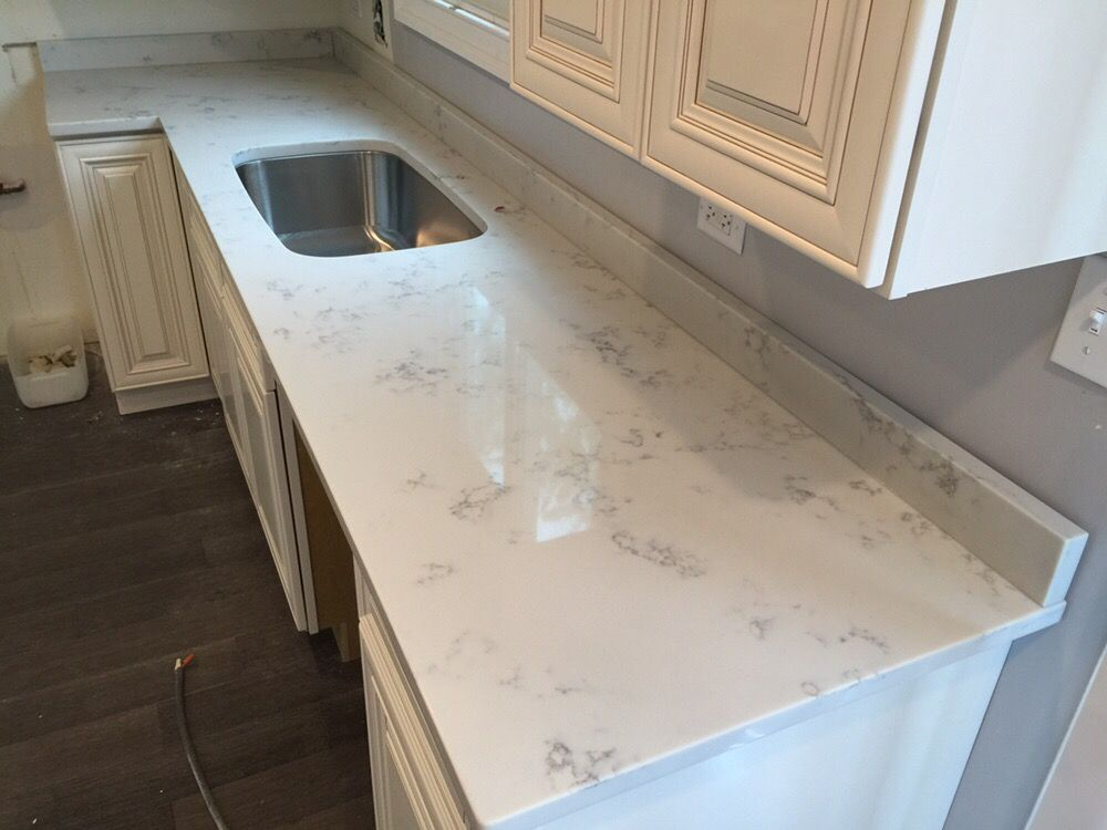 White Quartz Countertops Austin Tops